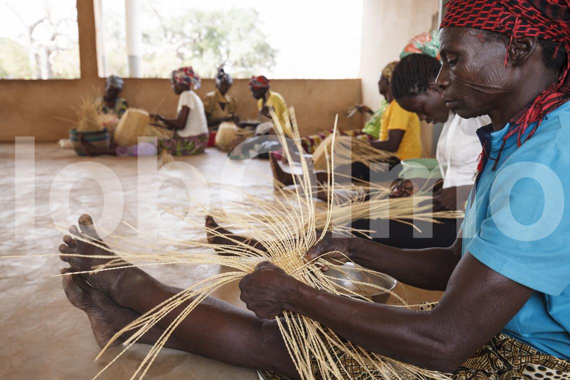 Korbflechterinnen in Bolgatanga