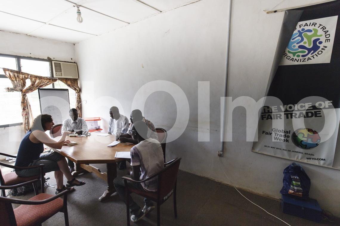 Büro von TradeAid in Bolgatanga