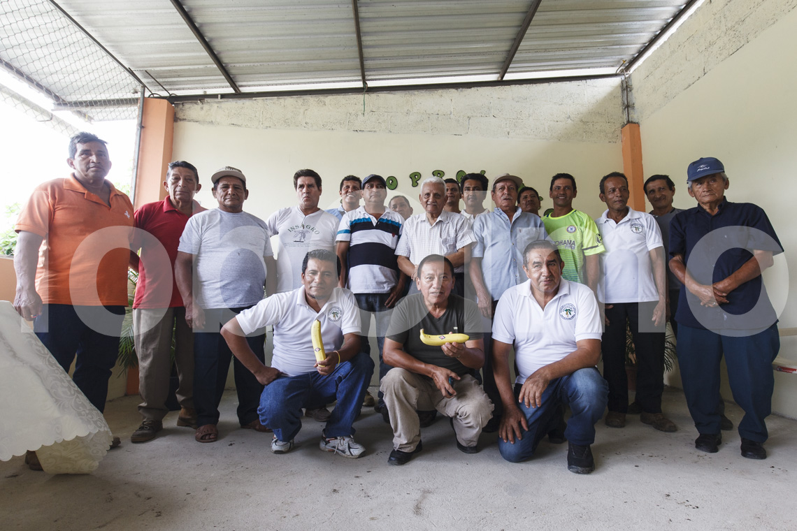 Ecuador, Machala, Bananen, Bauernversammlung UROCAL