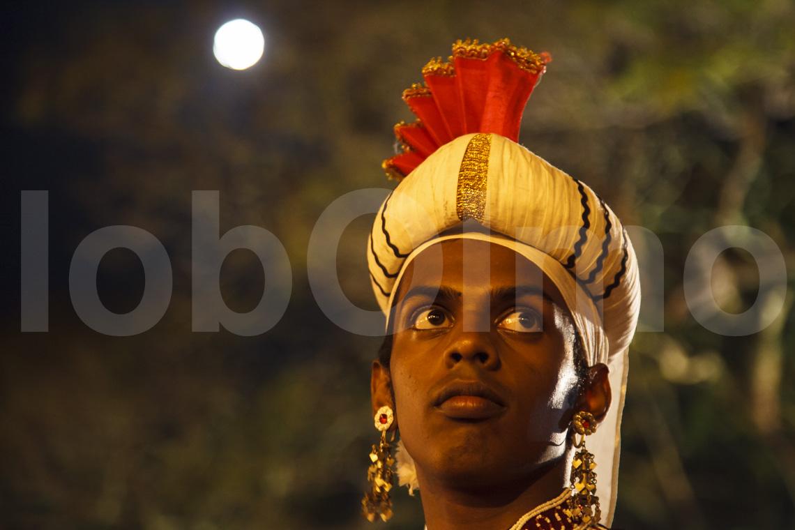 Tänzer bei der Esala Perahera